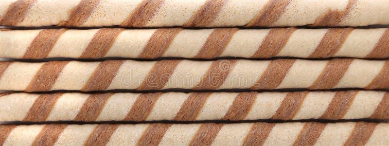 Предпосылка кренов waffle стоковая фотография rf