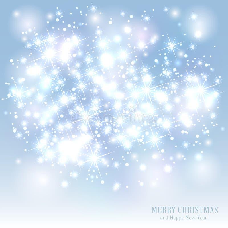 Предпосылка Кристмас с звездами бесплатная иллюстрация