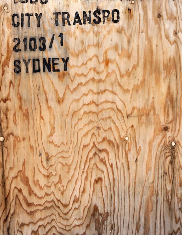 Предпосылка клети переклейки деревянная стоковая фотография rf