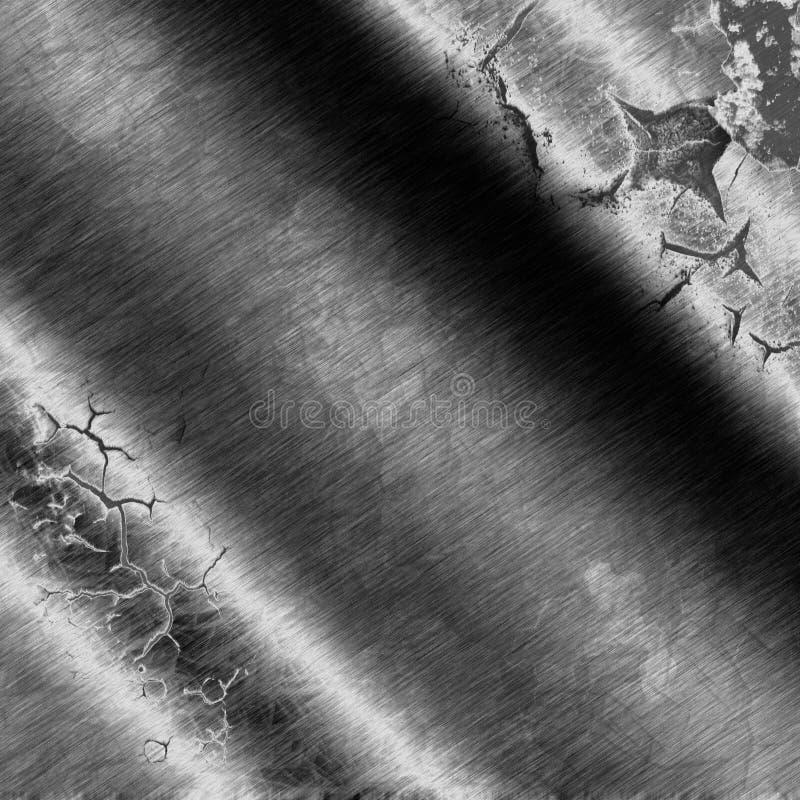 Предпосылка металла или текстура стали стоковые изображения rf
