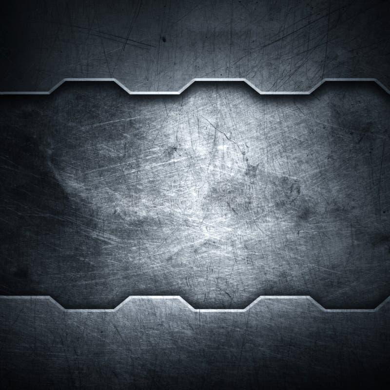 Предпосылка металла стоковое фото