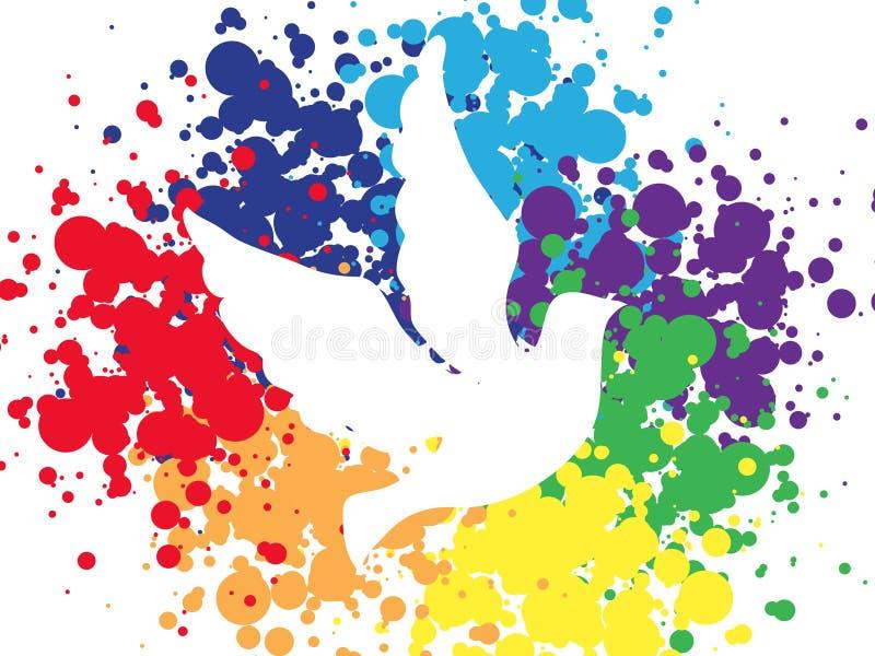 Предпосылка мира бесплатная иллюстрация