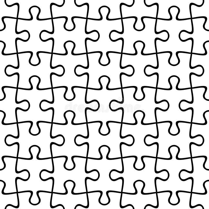 Предпосылка мозаики безшовная также вектор иллюстрации притяжки corel иллюстрация вектора