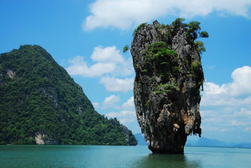 Предпосылка моря Таиланда стоковая фотография rf