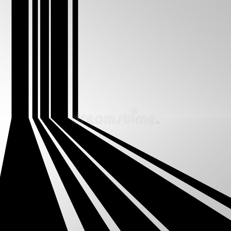 Предпосылка моды, черная линия бесплатная иллюстрация
