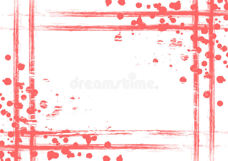 Предпосылка нарисованная вектором с рамкой, границей иллюстрация штока