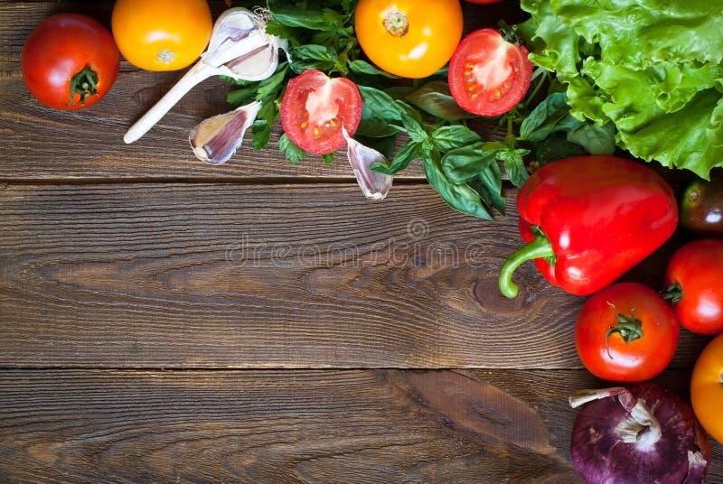 Предпосылка натуральных продуктов стоковая фотография rf