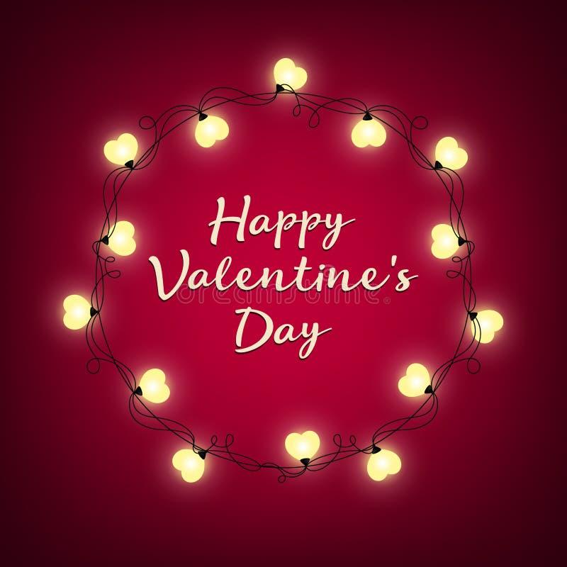 Предпосылка дня Валентайн Знак вектора ретро светлый изолированная сердцем белизна томата формы стоковая фотография rf