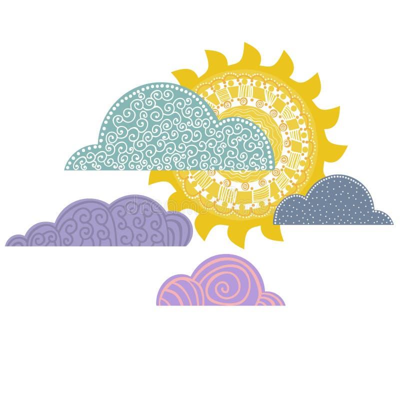 Предпосылка дня overcast, бесплатная иллюстрация
