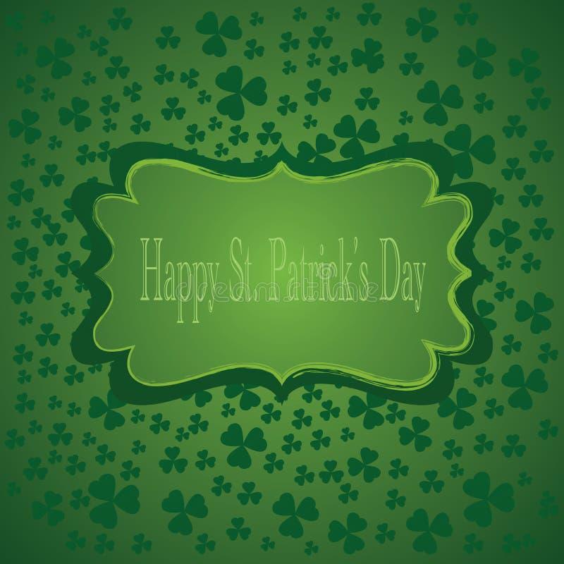 Предпосылка дня St.Patricks. Иллюстрация вектора иллюстрация вектора