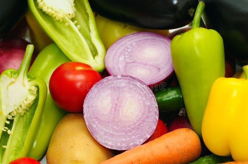 Предпосылка овощей стоковые фотографии rf