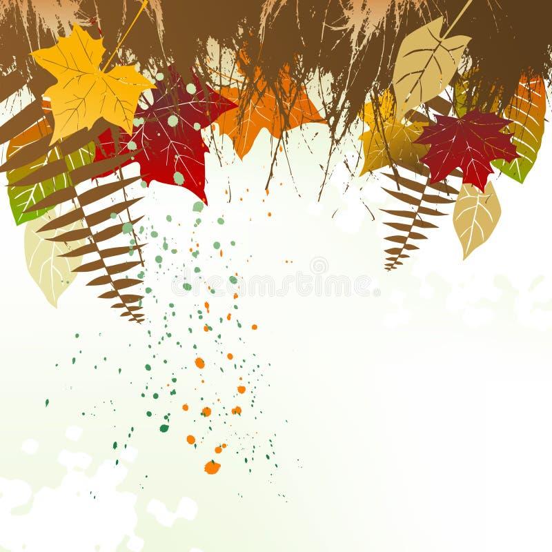Download Предпосылка осени с космосом для текста Иллюстрация вектора - иллюстрации насчитывающей grunge, украшение: 33737442