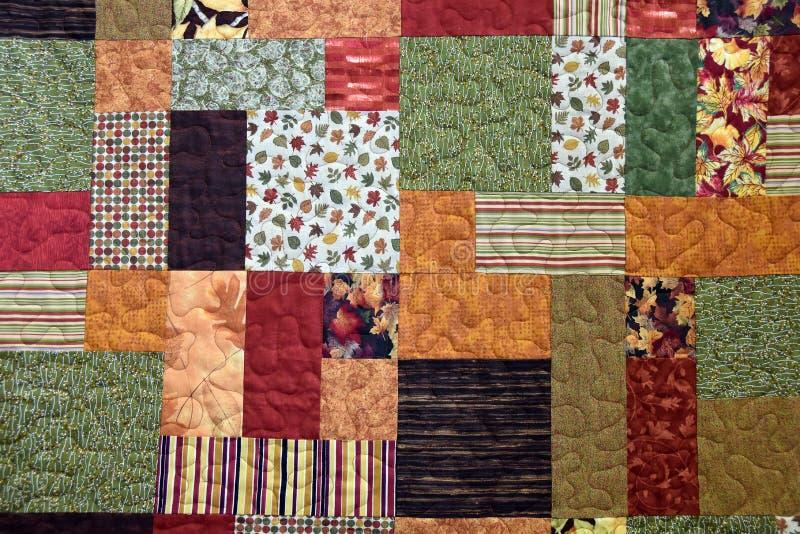 Предпосылка лоскутного одеяла осени стоковое фото rf