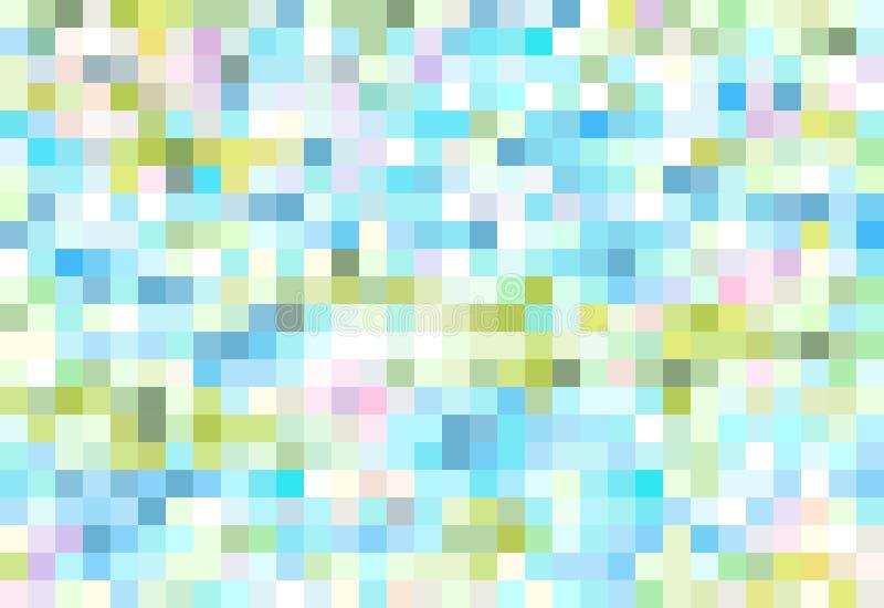 Предпосылка пиксела иллюстрация вектора