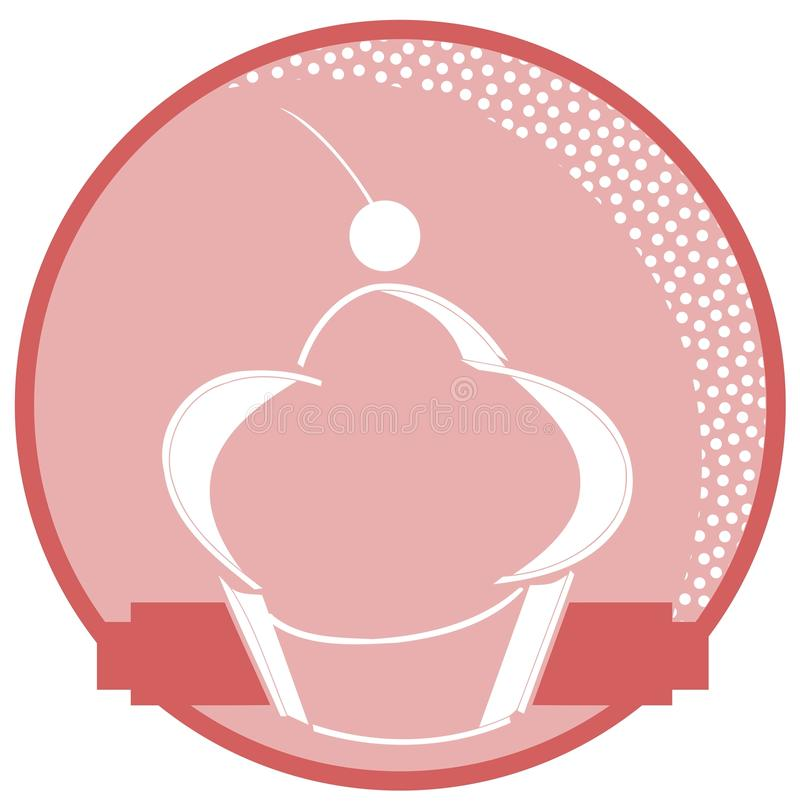 Предпосылка пирожных бесплатная иллюстрация