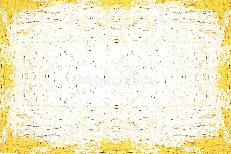 Предпосылка покрашенная конспектом желтая иллюстрация вектора