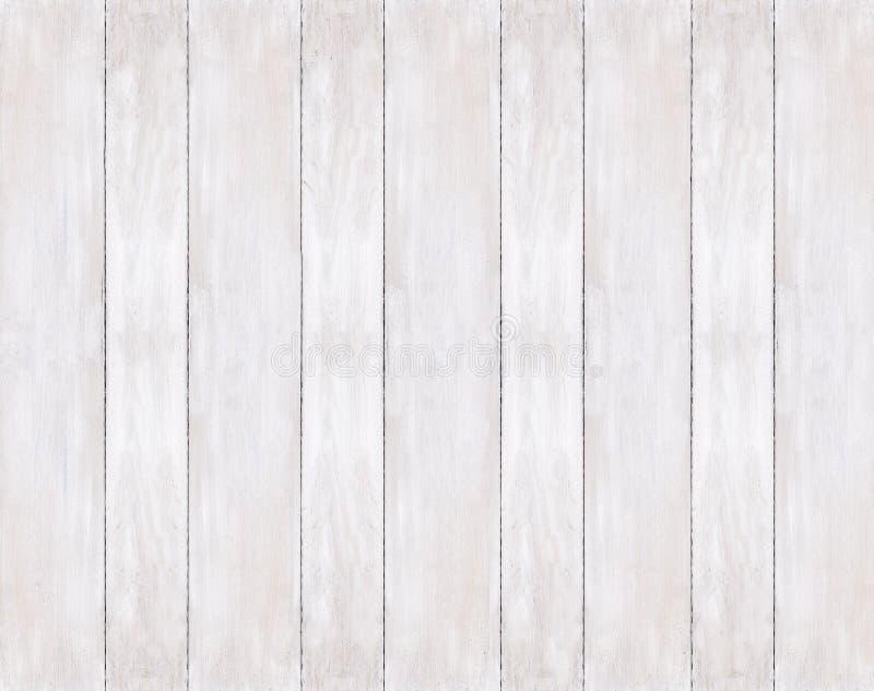 Предпосылка покрашенных белых деревянных доск стоковые фото