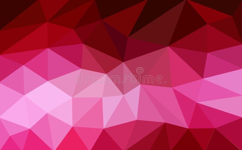 Предпосылка полигона абстрактная иллюстрация вектора
