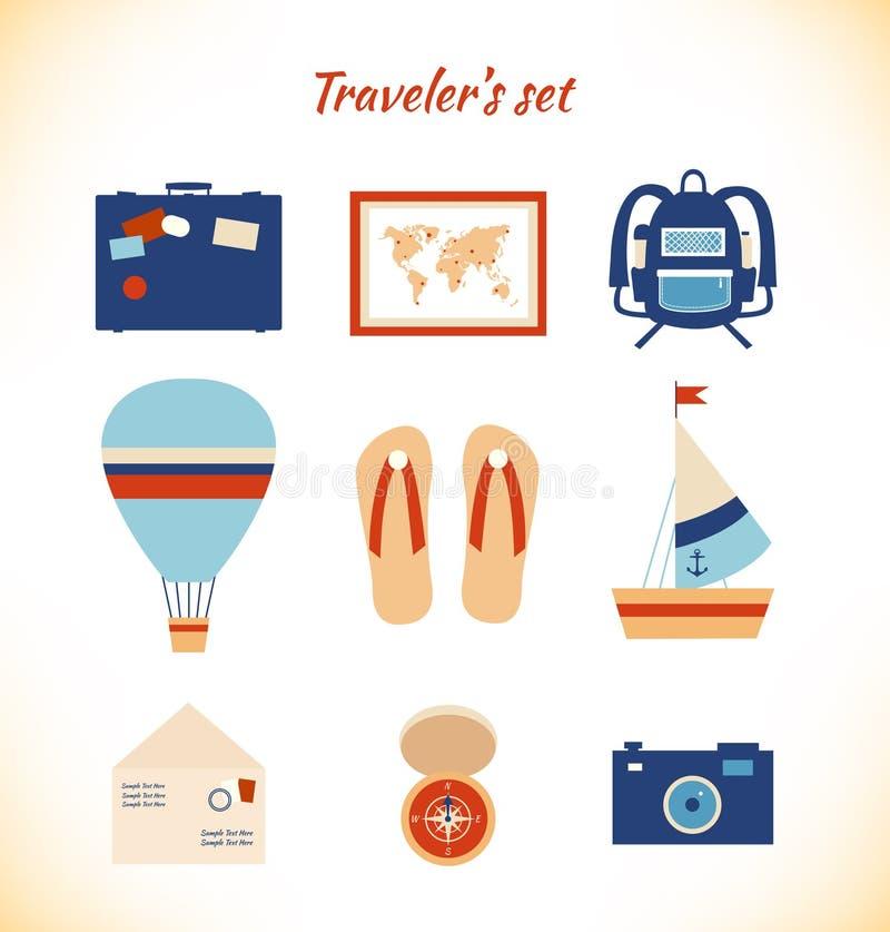 Предпосылка приключения света картины путешественника праздника бесплатная иллюстрация
