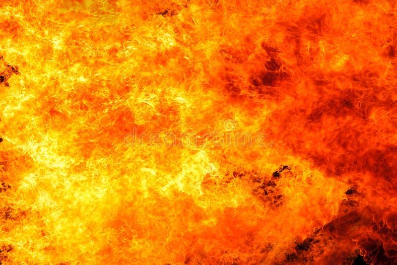 Предпосылка пламени огня пламени стоковое изображение