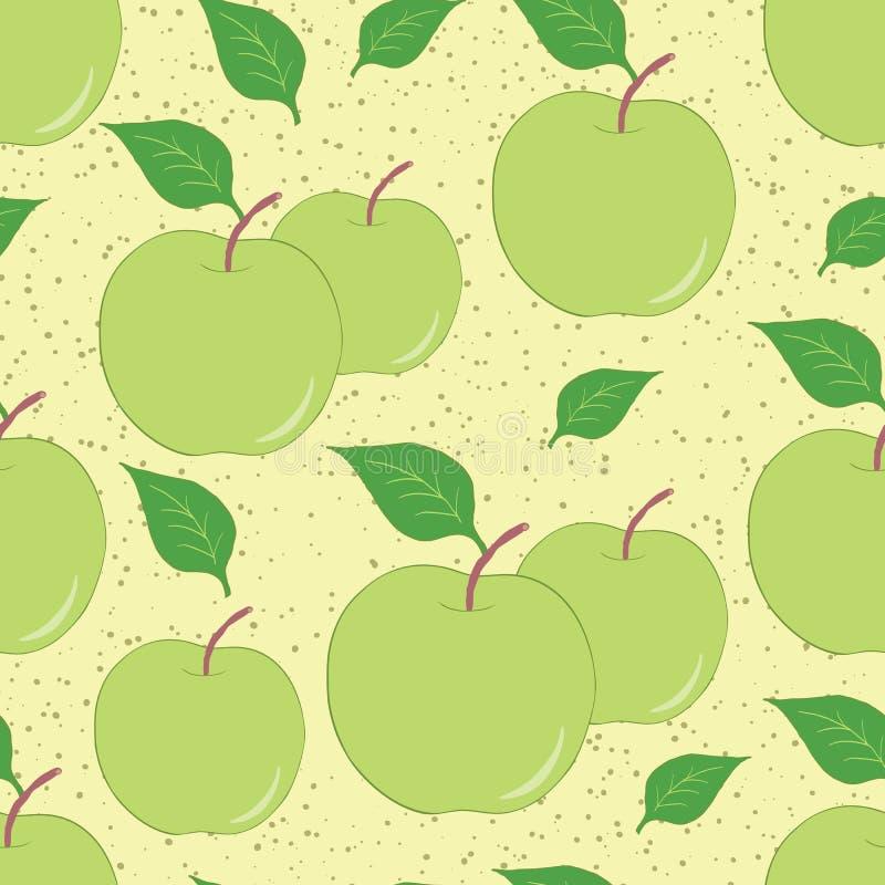 Фон яблоки рисунок