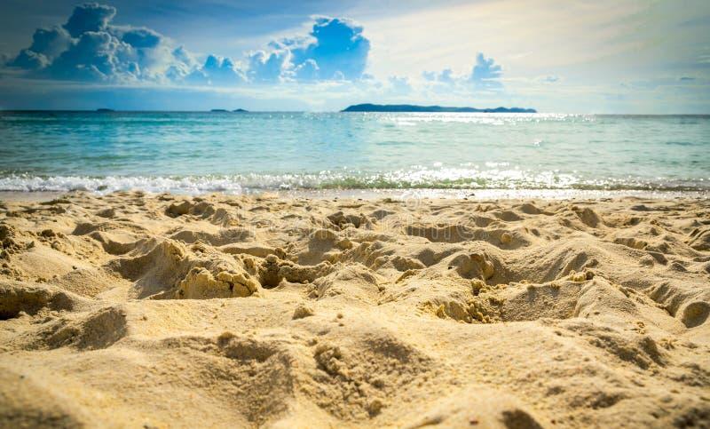 Предпосылка пляжа sand стоковые фотографии rf
