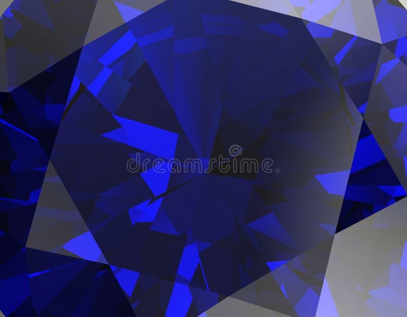 Предпосылка драгоценной камня ювелирных изделий иллюстрация вектора