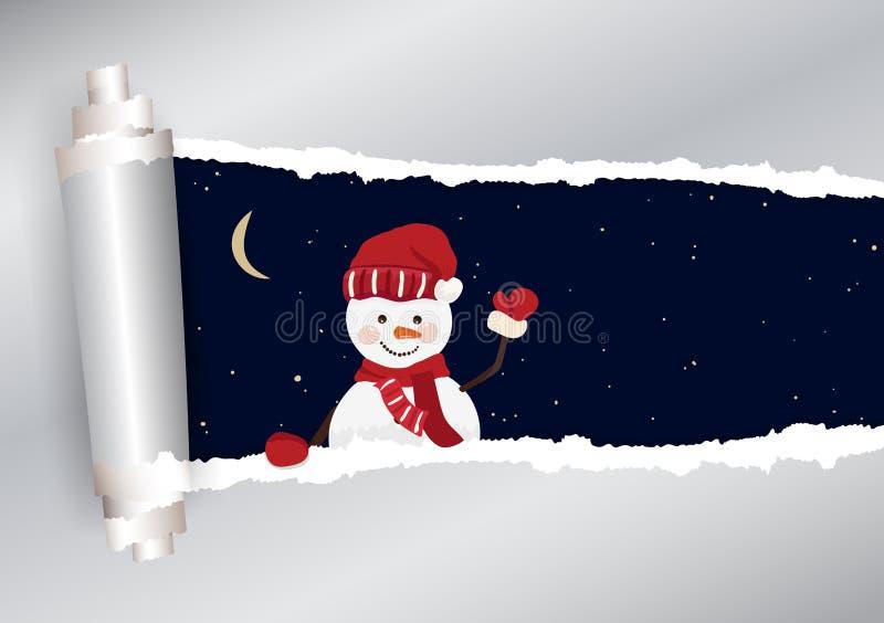Предпосылка рождества в векторе иллюстрация штока