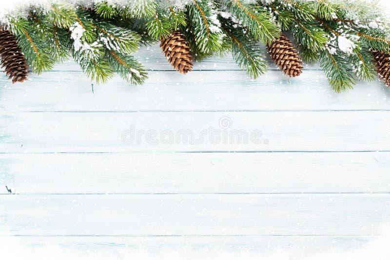 Предпосылка рождества деревянная стоковое фото
