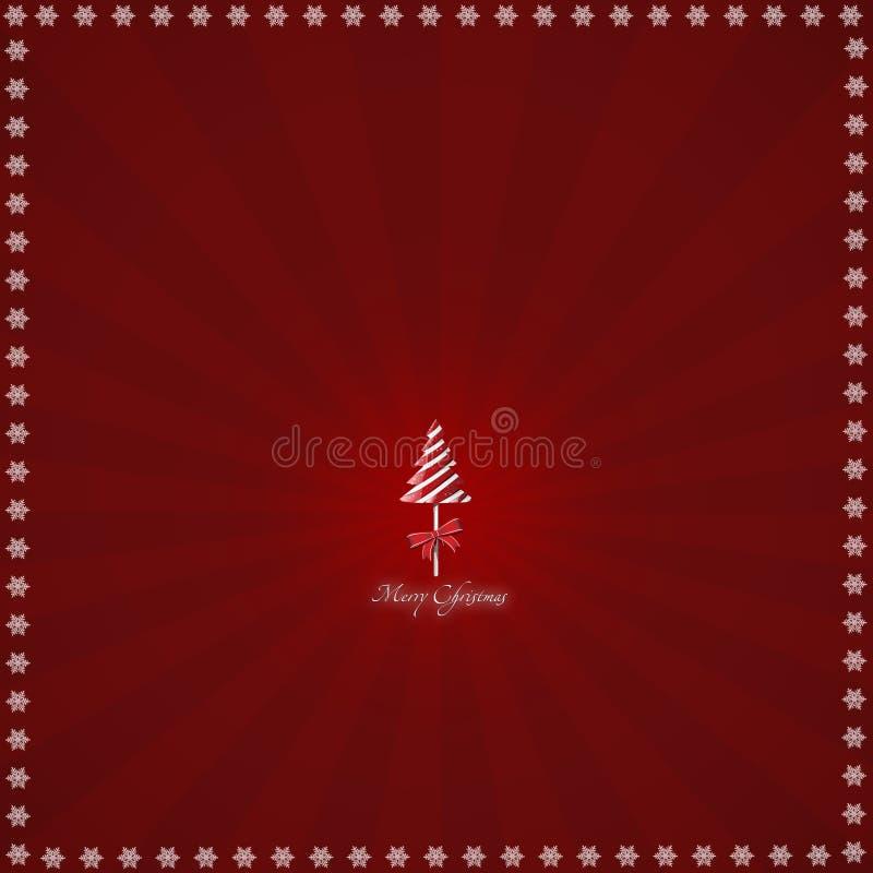 Предпосылка рождества иллюстрации. иллюстрация штока