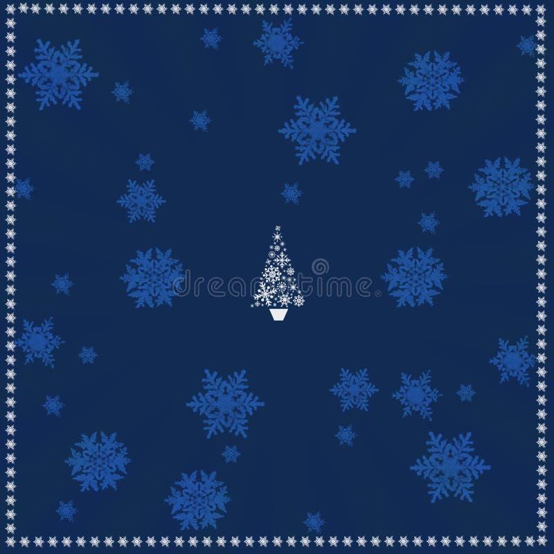Предпосылка рождества иллюстрации. иллюстрация вектора