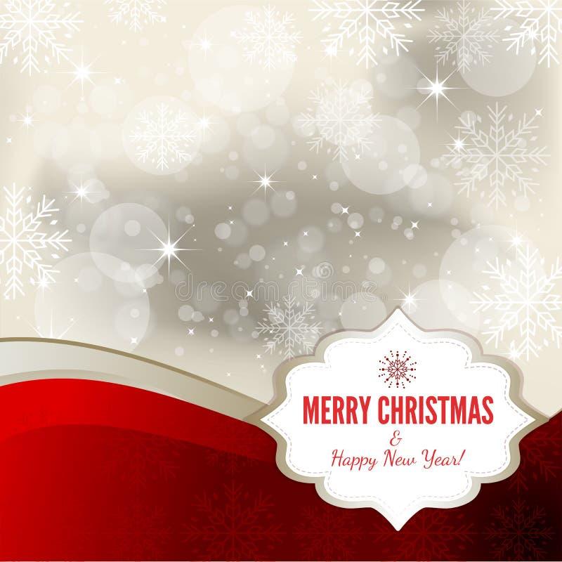Предпосылка рождества - иллюстрация иллюстрация штока