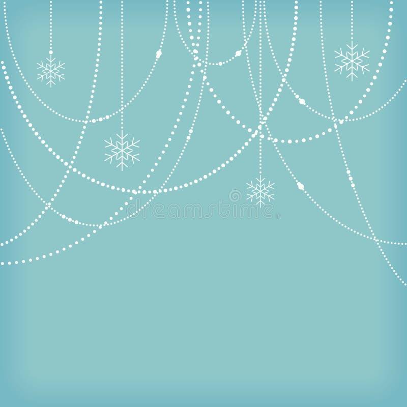 Предпосылка рождества иллюстрация штока