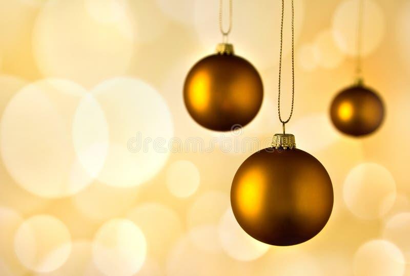Предпосылка рождества Golen стоковые фото