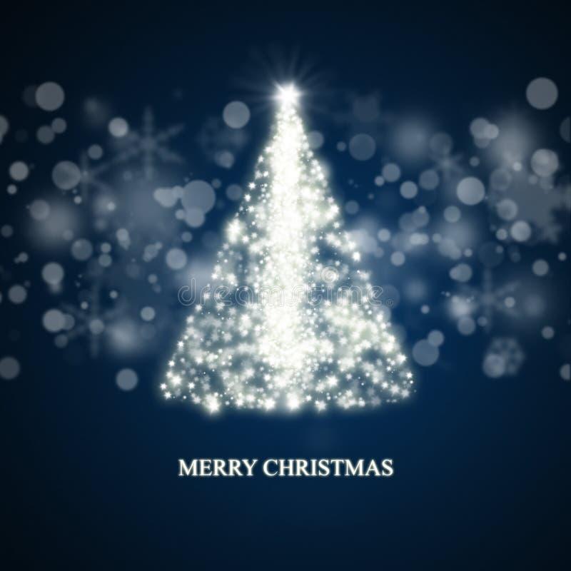 Предпосылка рождественской елки бесплатная иллюстрация