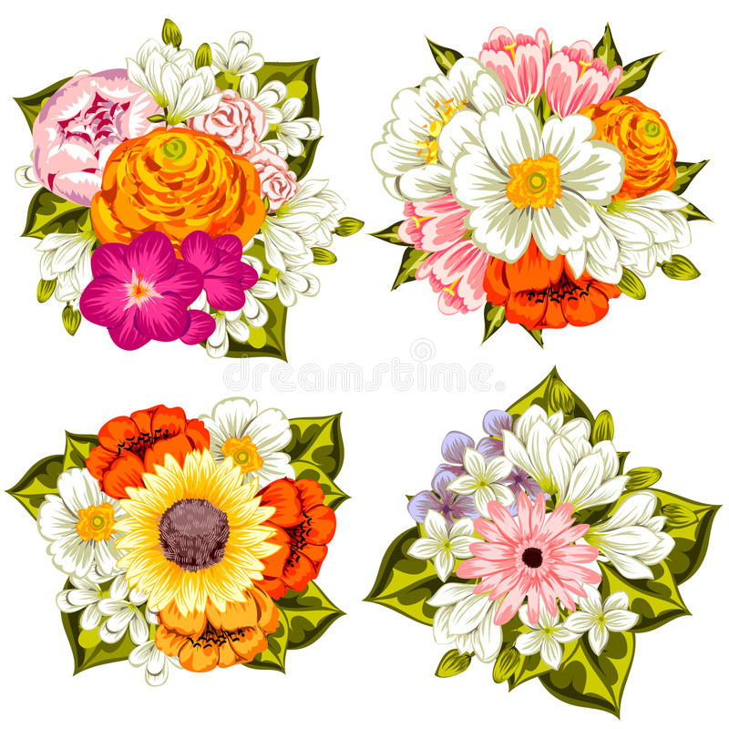 Предпосылка свежего цветка бесплатная иллюстрация