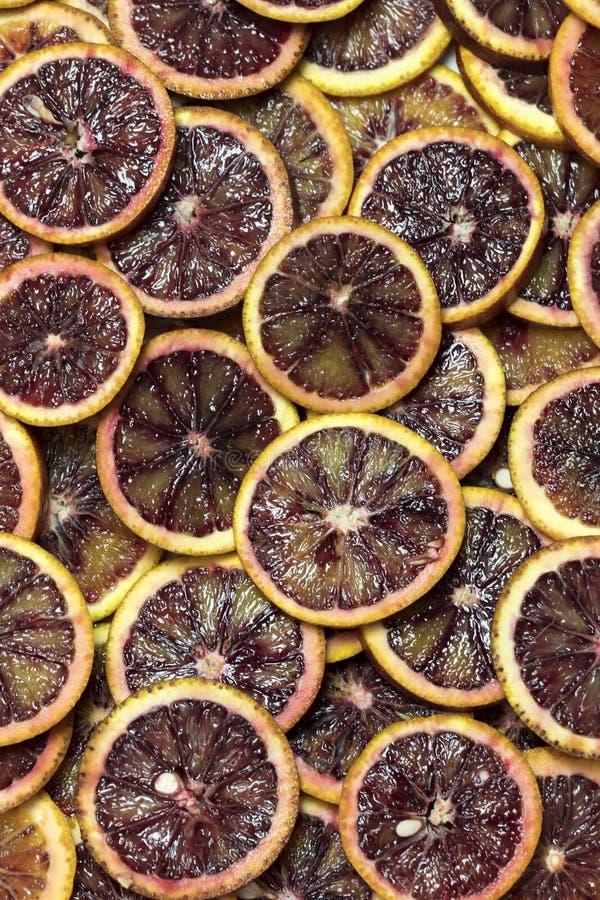Предпосылка свежих отрезанных цитрусовых фруктов стоковая фотография