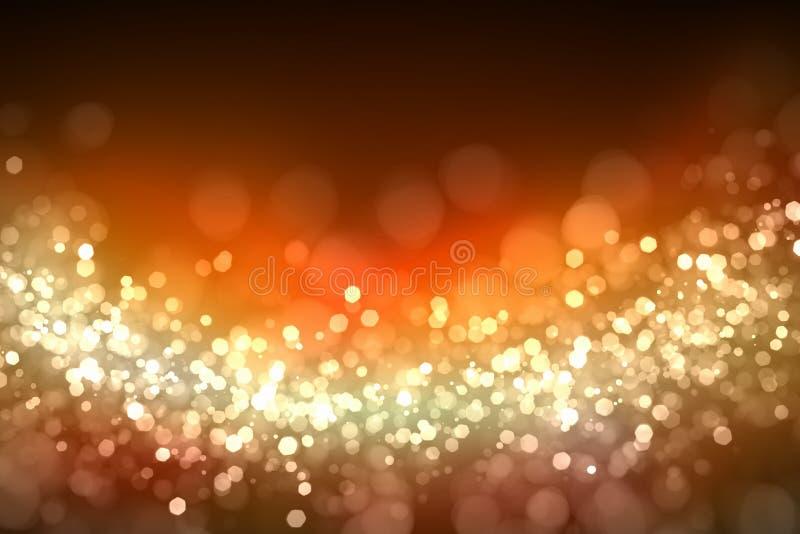 Предпосылка золота абстрактная светлая бесплатная иллюстрация