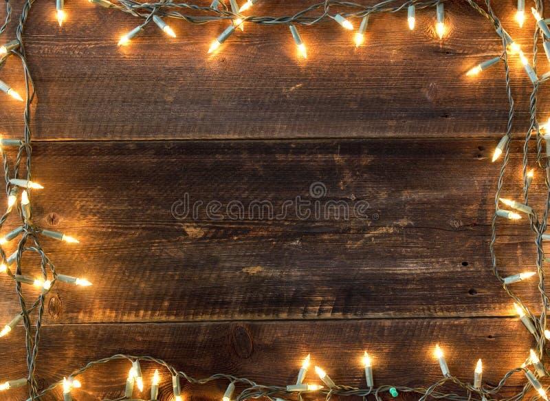 Предпосылка света рождества стоковые изображения