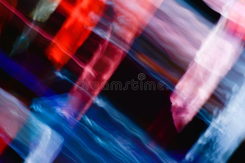 Предпосылка световых эффектов, абстрактная светлая предпосылка, светлые утечки, стоковое изображение