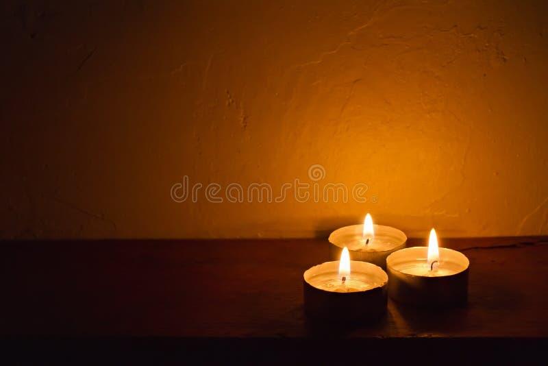 Предпосылка свечи курорта романтичная стоковые фото