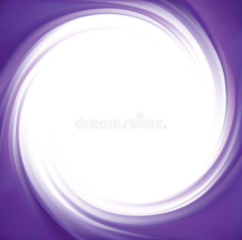 Предпосылка свирли вектора абстрактная фиолетовая иллюстрация штока