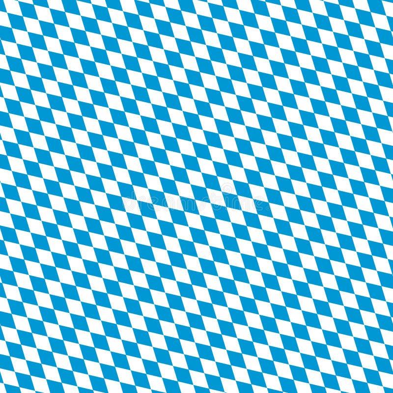 Предпосылка символа флага Oktoberfest баварская иллюстрация вектора