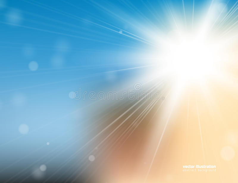 Download Предпосылка солнечного света Иллюстрация вектора - иллюстрации насчитывающей экземпляр, зарево: 41653373