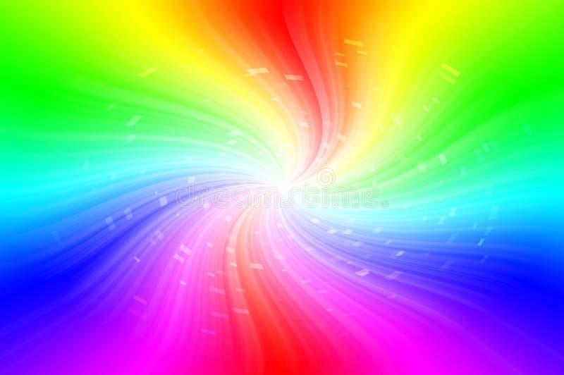 Предпосылка спектров абстрактная стоковая фотография