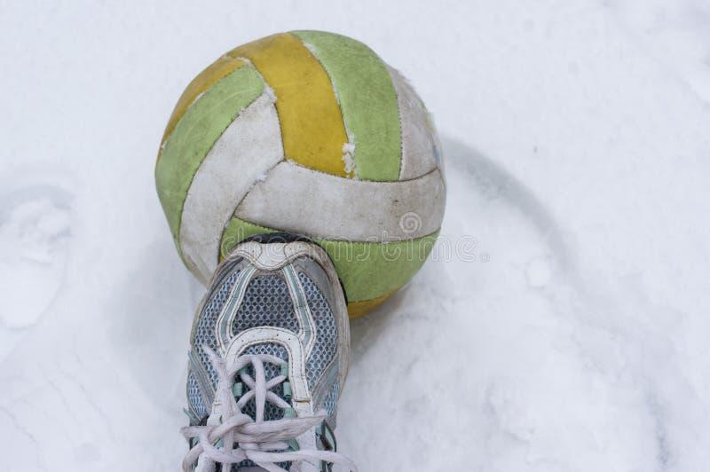 Предпосылка спорта зимы стоковое изображение