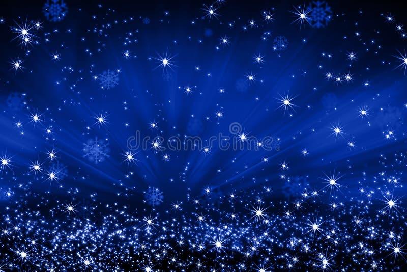 предпосылка 8 спуская звезды снежинок архива eps включенные иллюстрация штока