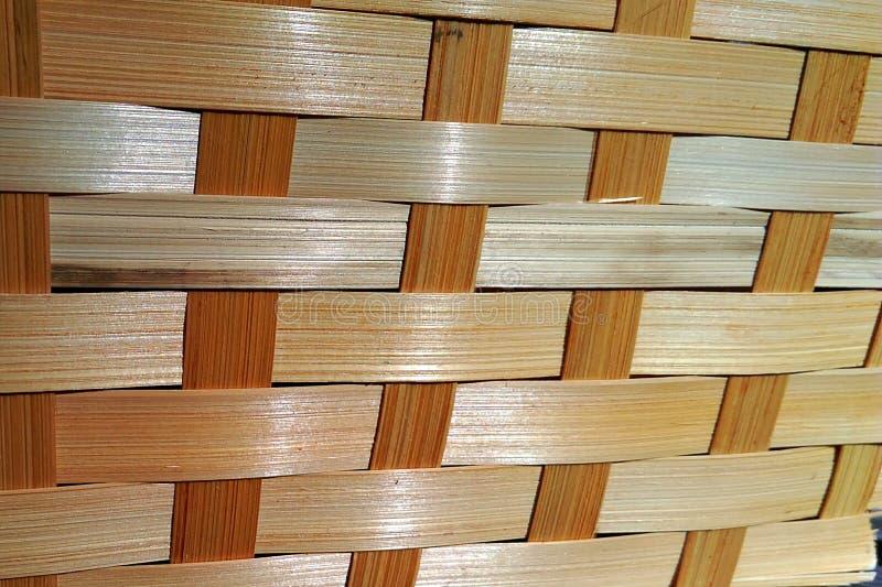 Предпосылка сплетенная древесиной стоковое изображение rf