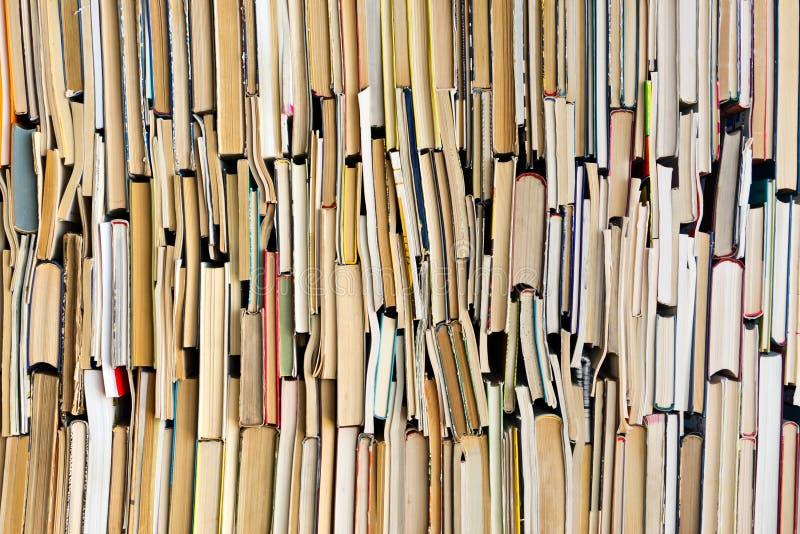Предпосылка старых книг стоковые фотографии rf