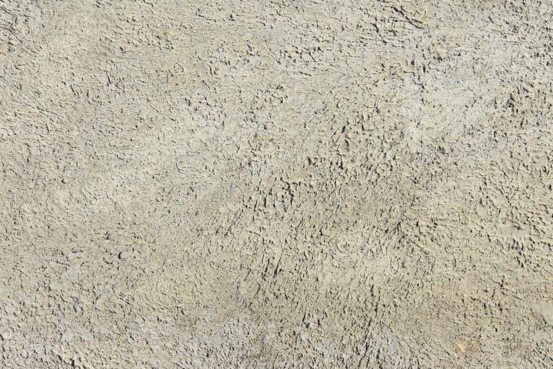 Предпосылка стены гипсолита handmade серая стоковое фото rf
